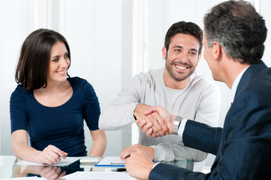 happy-buyer-with-agent